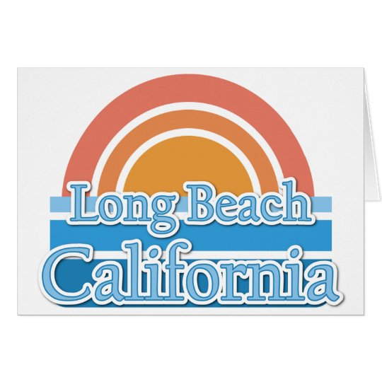 Long Beach, California Card