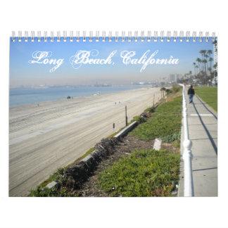 Long Beach, California Custom Printed Calendar