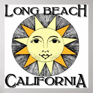 Long Beach California Póster