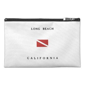 Long Beach California Scuba Dive Flag Travel Accessory Bag