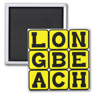 Long Beach, California United States Magnet