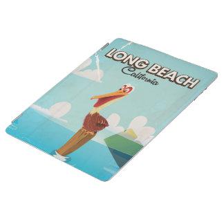 Long Beach California Vintage Pelican travel iPad Cover