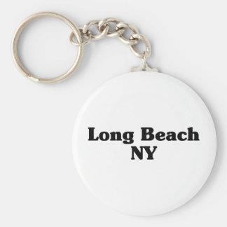 Long Beach  Classic t shirts Basic Round Button Keychain