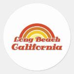 Long Beach Etiqueta Redonda