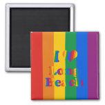 LONG BEACH GAY PRIDE FRIDGE MAGNETS