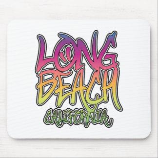 Long Beach Graffiti Mouse Pad