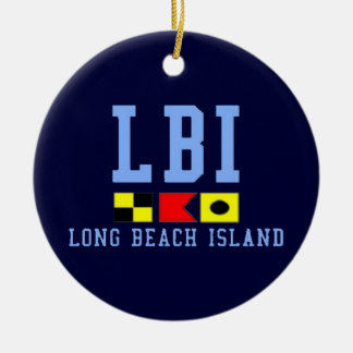 Long Beach Island. Ceramic Ornament