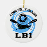 Long Beach Island Christmas Tree Ornament