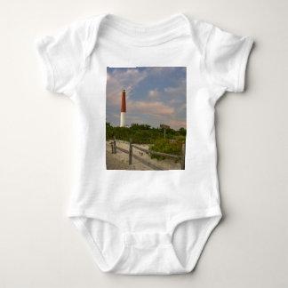 Long Beach Island Light House New Jersey USA Baby Bodysuit