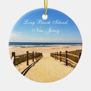 Long Beach Island Nj Lbi Christmas Ornament