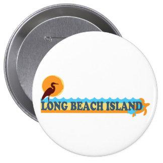 Long Beach Island. Pinback Button