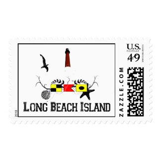 Long Beach Island. Postage Stamp