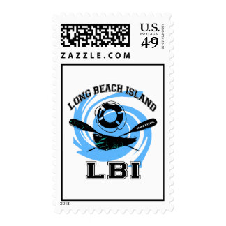 Long Beach Island. Stamp