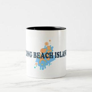 Long Beach Island. Two-Tone Coffee Mug