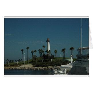 Long Beach Lighthouse Card