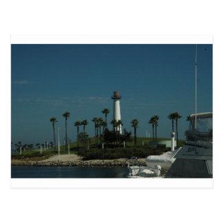 Long Beach Lighthouse Postcard