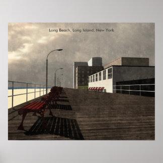 Long Beach, Long Island, New York Poster