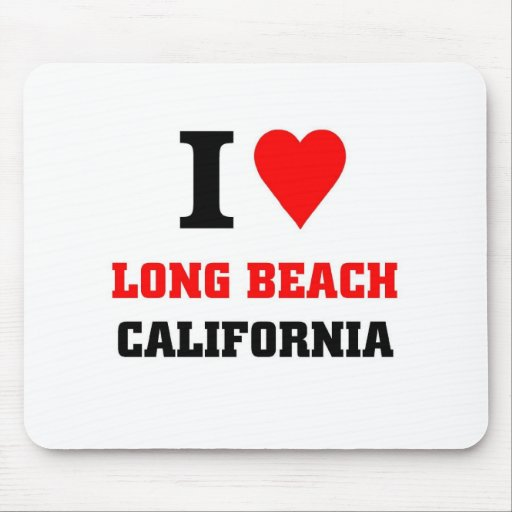 Long Beach Mouse Pad