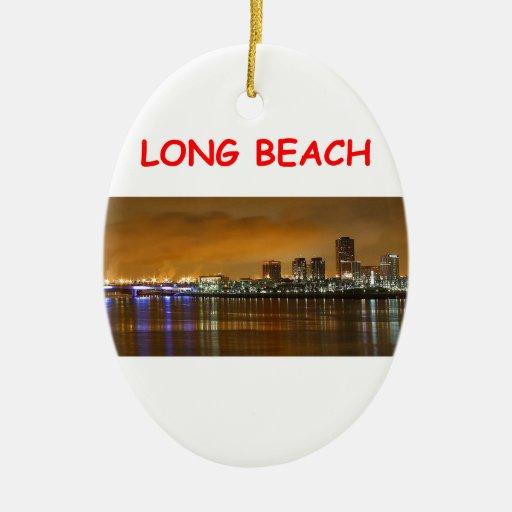 Long Beach Ornamentos De Navidad