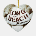 Long Beach para siempre Ornamento Para Arbol De Navidad