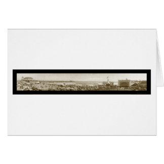Long Beach Pier CA Photo 1911 Cards