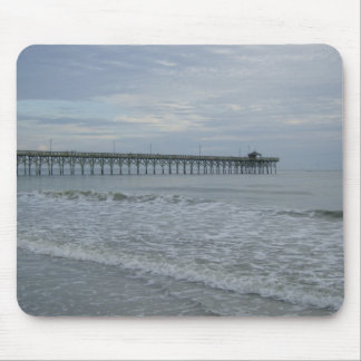 Long Beach Pier Mouse Pad