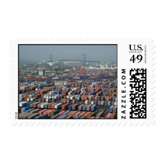 Long Beach Shipping Containers Postage