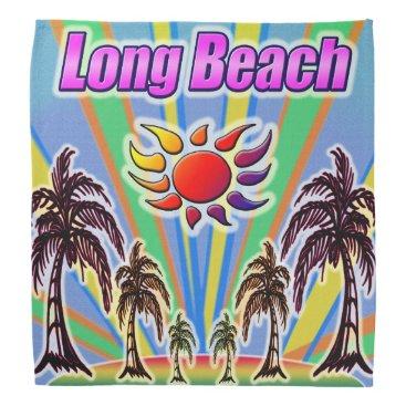 Beach Themed Long Beach Summer Love Bandana