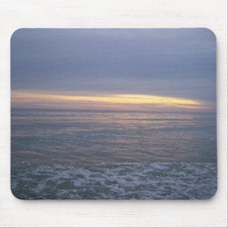 Long Beach Sunset Mouse Pad