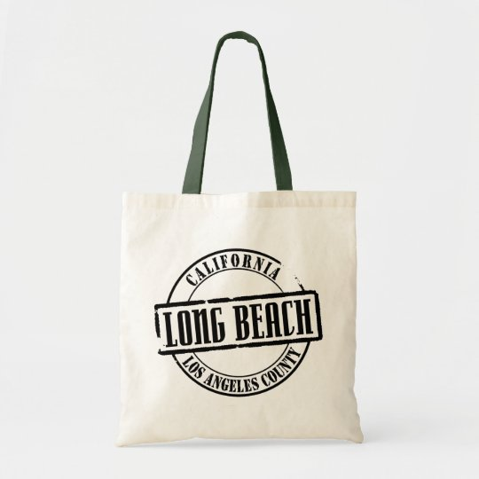 Long Beach Title Tote Bag