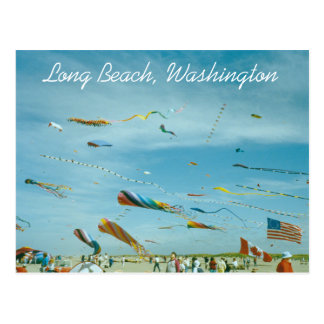 Long Beach, Washington Travel Photo Postcard