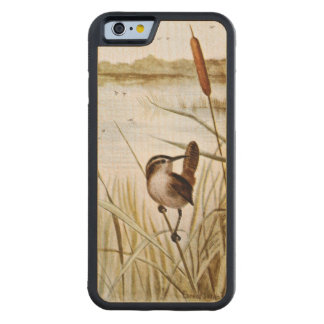 Long Billed Marsh Wren Carved Maple iPhone 6 Bumper Case