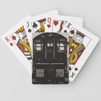 Long Black Train Cards