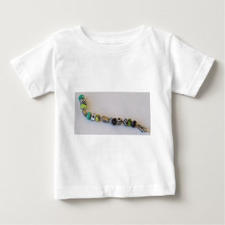 Long Blue Chain by MelinaWorld Jewellery Baby T-Shirt