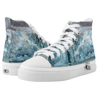 Long Blue Glacier Shoes