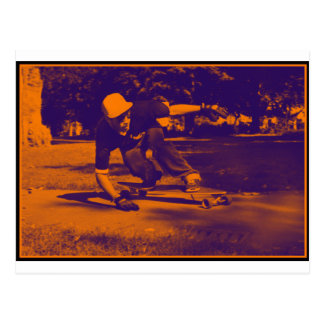 Long Board Hustle Postcard