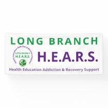 Long Branch HEARS Banner