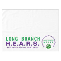 Long Branch HEARS Event Table Cloth