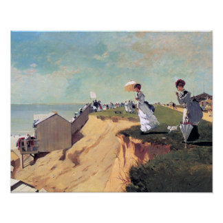 Long Branch, New Jersey by Winslow Homer Poster