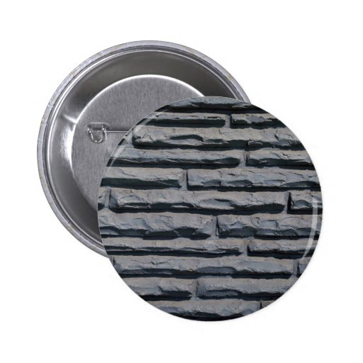 Long brick wall button