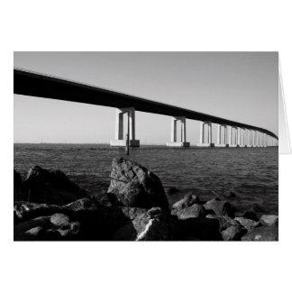 Long Bridge Greeting Card,Note Card