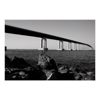 Long Bridge Poster,Print Poster