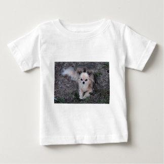 Long Coat Chihuahua Baby T-Shirt