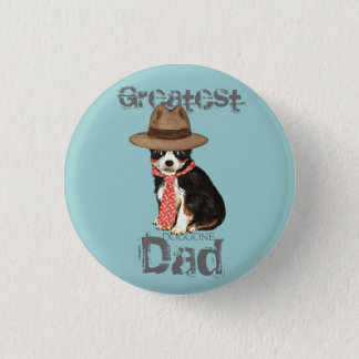 Long Coat Chihuahua Dad Pinback Button