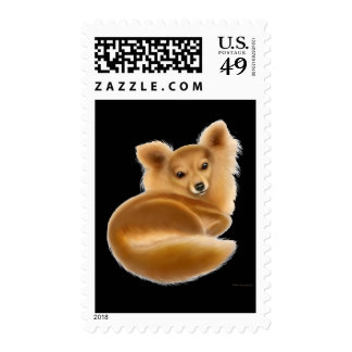 Long Coat Chihuahua Postage