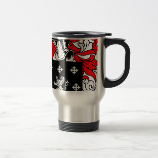 Long Coat of Arms 15 Oz Stainless Steel Travel Mug