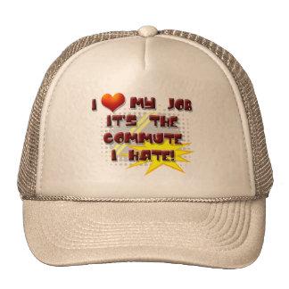 LONG COMMUTE TRUCKER HAT
