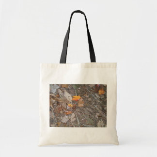 Long Copper Head Snake On Autumn Leaves At Forest Budget Tote Bag