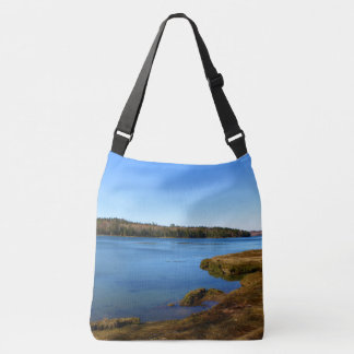 Long Cove, Sullivan, Maine 2016 Crossbody Bag