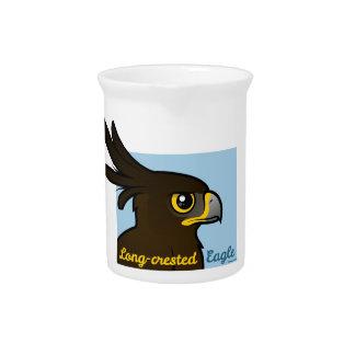Long-crested Eagle Portrait Pitcher